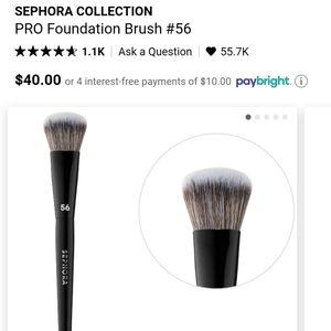 BN #56 Sephora Foundation Brush